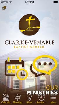Clarke Venable Baptist Church poster