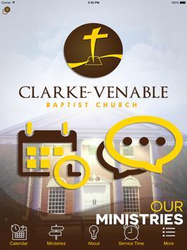 Clarke Venable Baptist Church apk screenshot