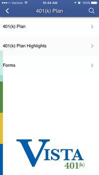 Vista 401(K) apk screenshot