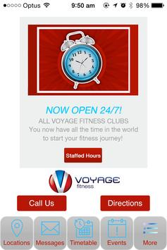 Voyage Fitness 24/7 poster