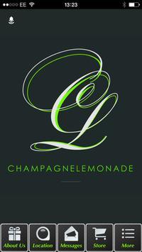 Champagne-Lemonade poster