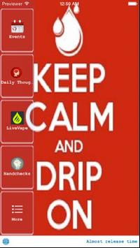 Drip Tips Mobile poster