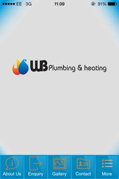 WB Plumbing & Heating poster