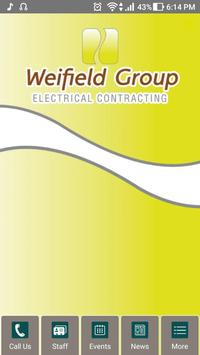 Weifield Group Contracting poster