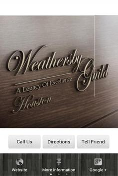 Weathersby Guild Houston poster