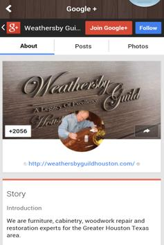 Weathersby Guild Houston apk screenshot