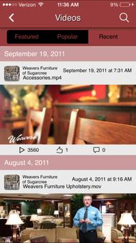 Weaver's Fine Furniture apk screenshot