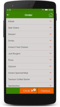 Imrans Diner screenshot 3