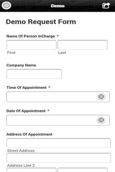 WebForm2U apk screenshot