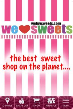 WeLuvSweets poster