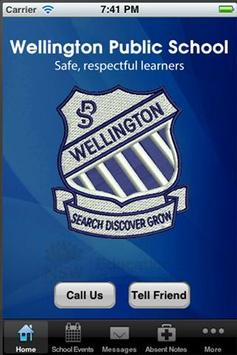 Wellington Public School poster