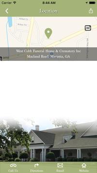 West Cobb Funeral Home screenshot 1