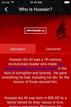 Who is Hussain apk screenshot