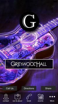 New Wheatsheaf / Greywood Hall poster