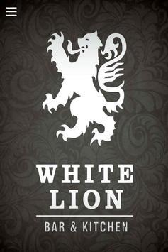 White Lion Bar & Kitchen poster