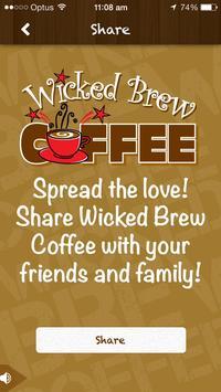 Wicked Brew Coffee apk screenshot