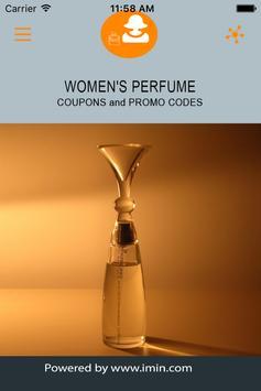 Women's Perfume Coupons - ImIn poster