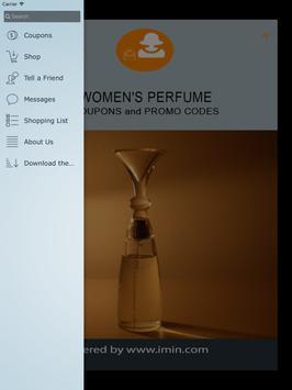 Women's Perfume Coupons - ImIn apk screenshot