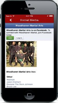Woodhaven Martial Arts School screenshot 1