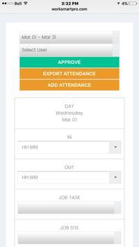 WorkSmartPro apk screenshot