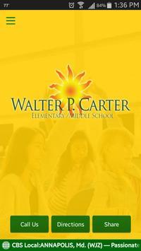 Walter P. Carter School poster