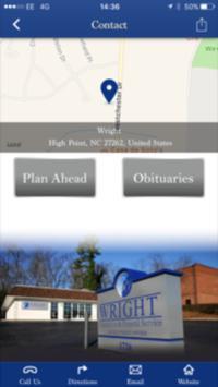 Wright Cremation & Funeral apk screenshot