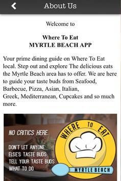 Where To Eat MYRTLE BEACH screenshot 4