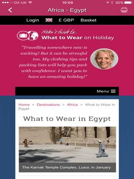 What to Wear on Holiday (EN) screenshot 5