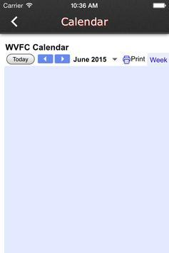 West Virginia Futbol Club screenshot 1