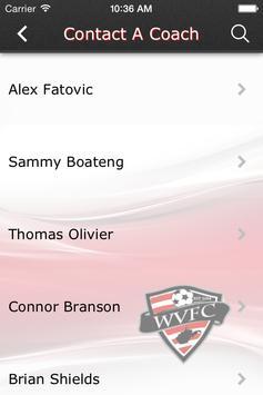 West Virginia Futbol Club screenshot 2