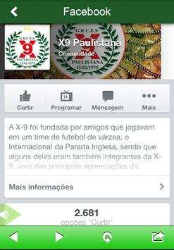 X-9 Paulistana screenshot 2
