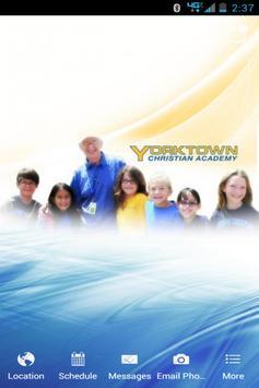 Yorktown Christian Academy poster