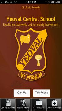 Yeoval Central School poster
