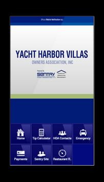 Yacht Harbor Owners Assn poster
