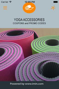Yoga Accessories Coupons-ImIn! poster