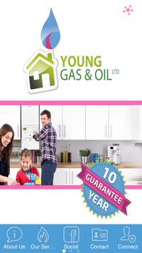 Youngs Gas and Oil poster