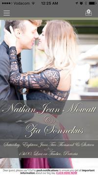 Zia & Nathan poster