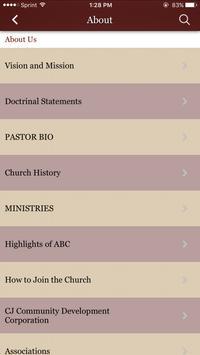 Agape Baptist Church apk screenshot