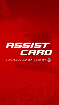 ASSIST CARD DESCUENTOS poster