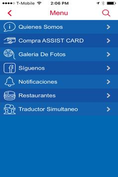 ASSIST CARD DESCUENTOS screenshot 2