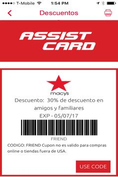 ASSIST CARD DESCUENTOS screenshot 3