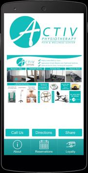 Activ Physiotherapy poster