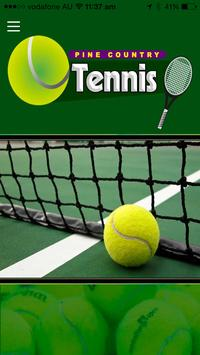 Pine Country Tennis poster