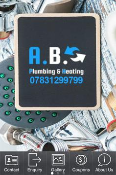 AB Plumbing & Heating poster