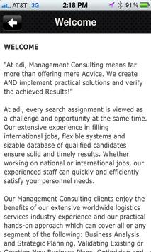adi Consult Americas apk screenshot