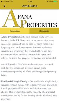 Afana Properties apk screenshot