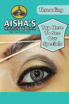 Aisha's Salon & Spa poster