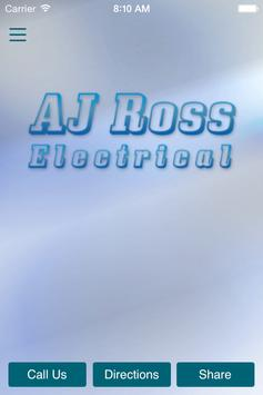 AJ Ross Electrical poster