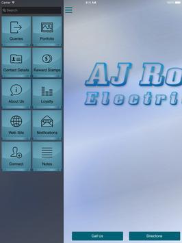 AJ Ross Electrical apk screenshot