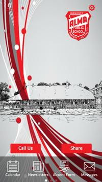 Alma Public School poster